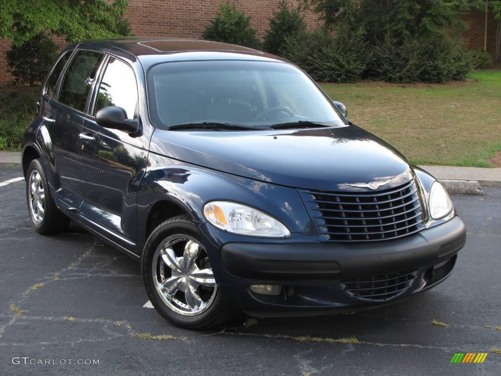 2001 chrysler pt cruiser limited patriot blue pearl color gray. Cars Review. Best American Auto & Cars Review