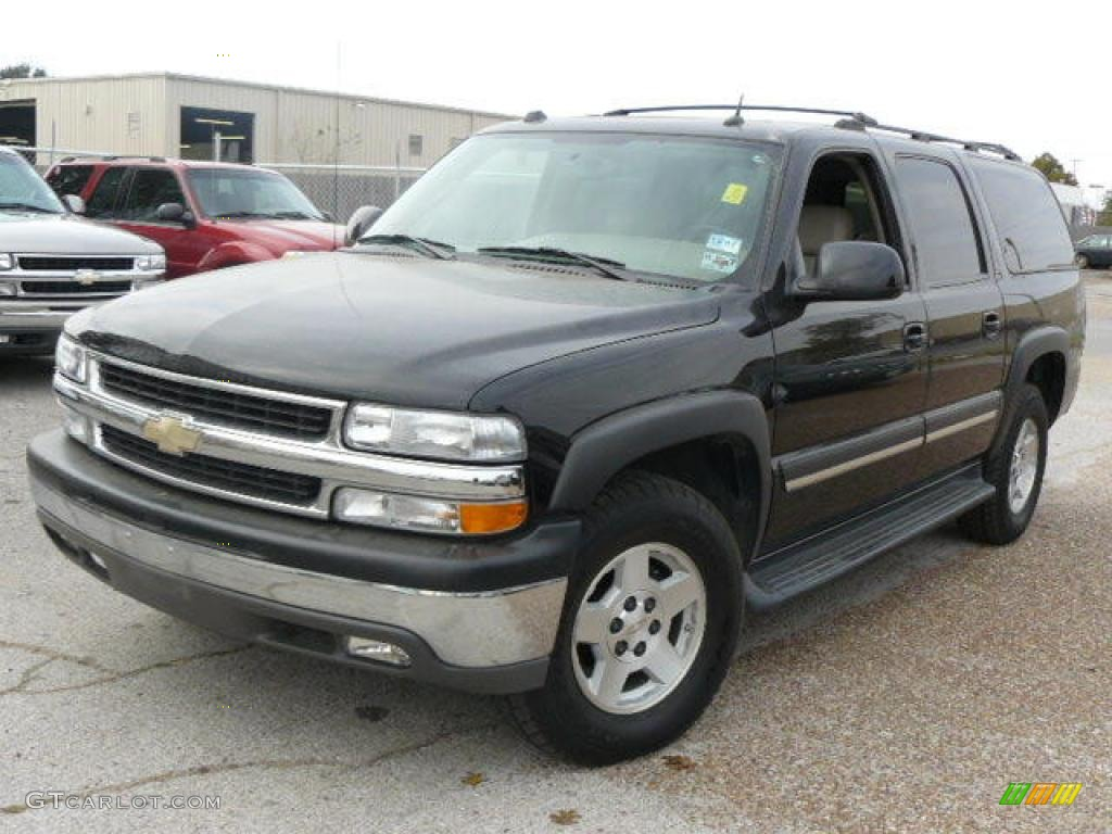 2004 black chevrolet suburban 1500 lt 1532155 gtcarlot. Black Bedroom Furniture Sets. Home Design Ideas