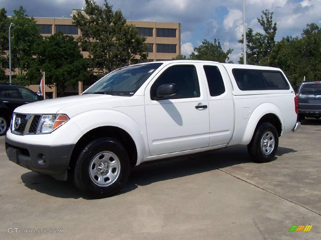 2006 avalanche white nissan frontier xe king cab 15719486. Black Bedroom Furniture Sets. Home Design Ideas
