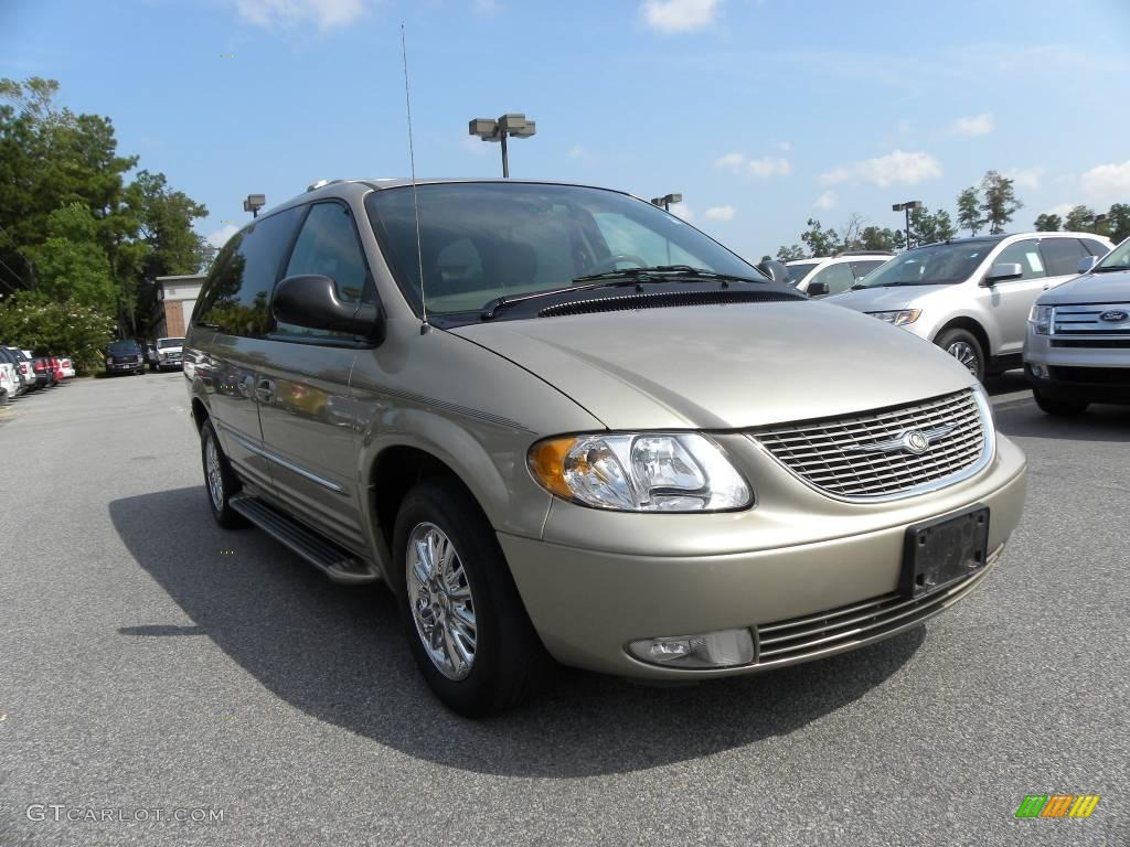 2003 light almond pearl chrysler town country limited. Black Bedroom Furniture Sets. Home Design Ideas