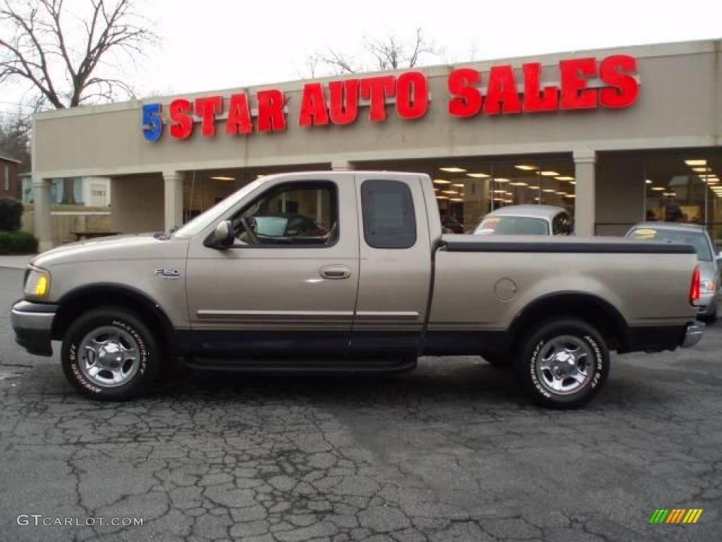 2001 Arizona Beige Metallic Ford F150 Lariat SuperCab 15715281