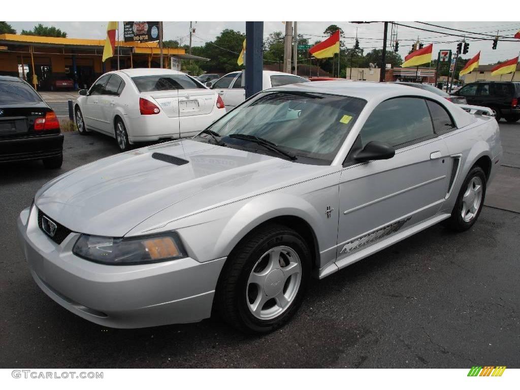 2002 Mustang V6 >> 2002 Satin Silver Metallic Ford Mustang V6 Coupe 15717307