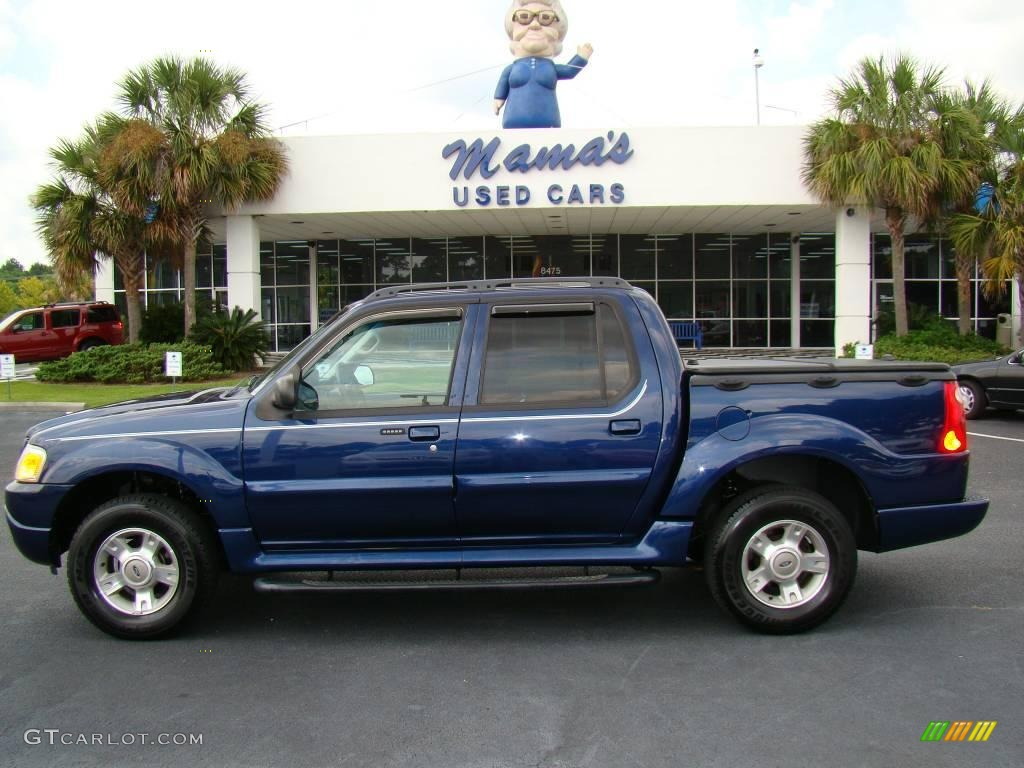 2004 ford explorer sport trac xlt 4x4 dark blue pearl metallic color. Cars Review. Best American Auto & Cars Review