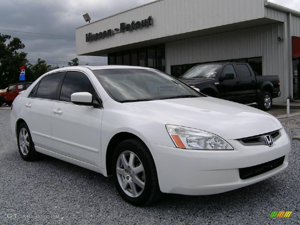 2008 Honda Accord Ex L V6 Sedan 2005 Taffeta White Honda Accord EX-L V6 Sedan #15708147 | GTCarLot.com ...