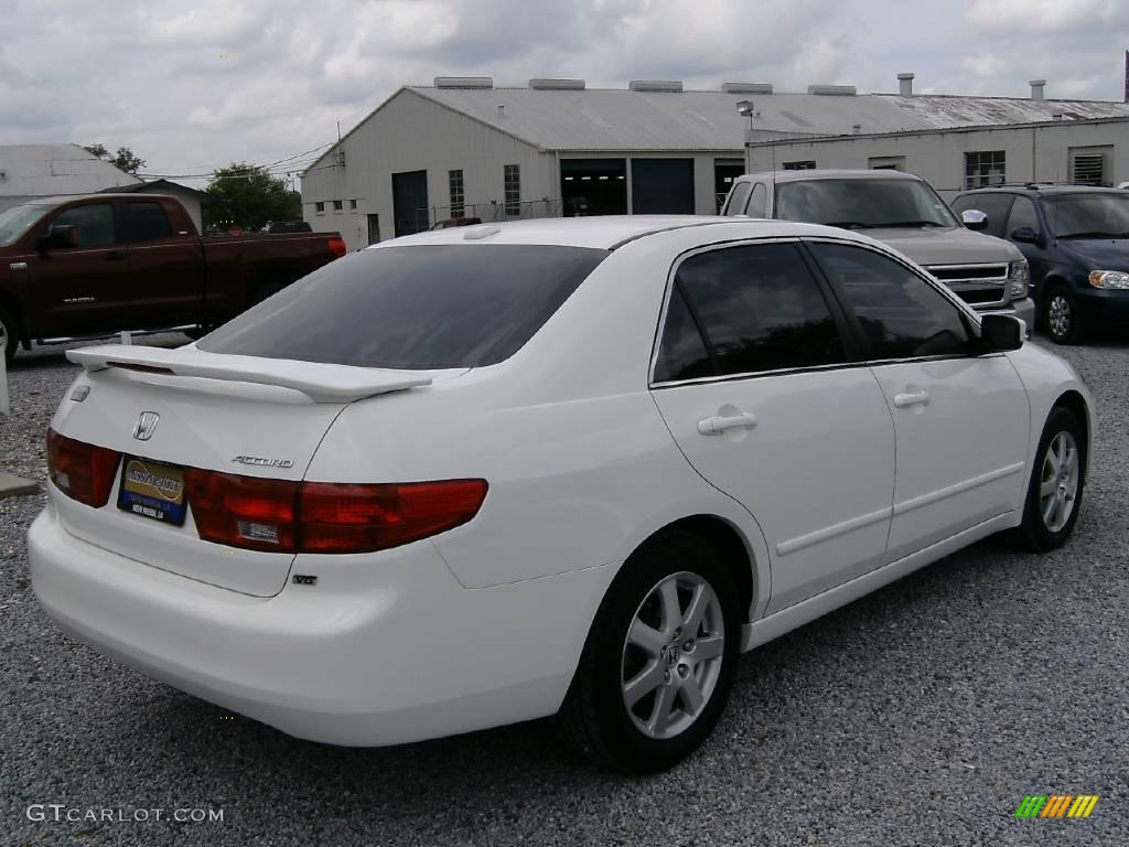 2005 taffeta white honda accord ex l v6 sedan 15708147 photo 3 car color. Black Bedroom Furniture Sets. Home Design Ideas