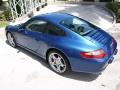 2007 Cobalt Blue Metallic Porsche 911 Carrera Coupe  photo #2