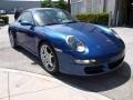 2007 Cobalt Blue Metallic Porsche 911 Carrera Coupe  photo #3
