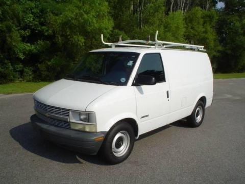2000 Chevrolet Astro Commercial Van Data, Info and Specs
