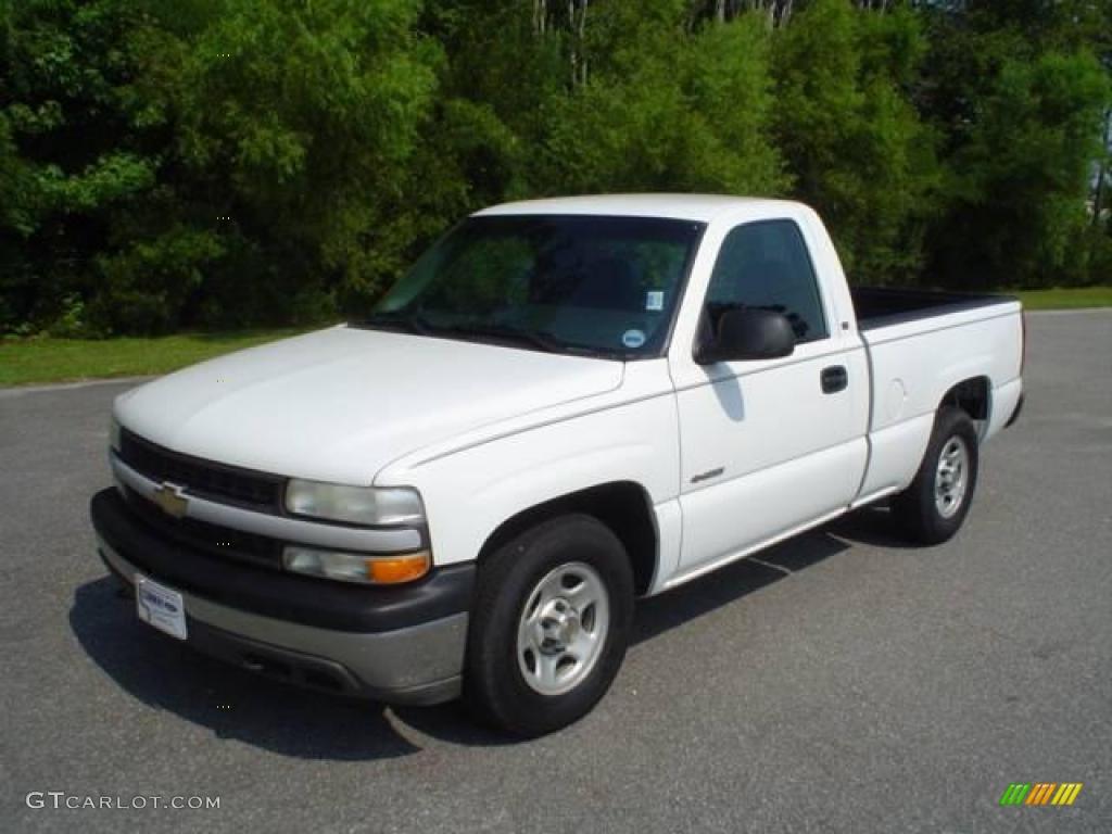 2002 summit white chevrolet silverado 1500 work truck