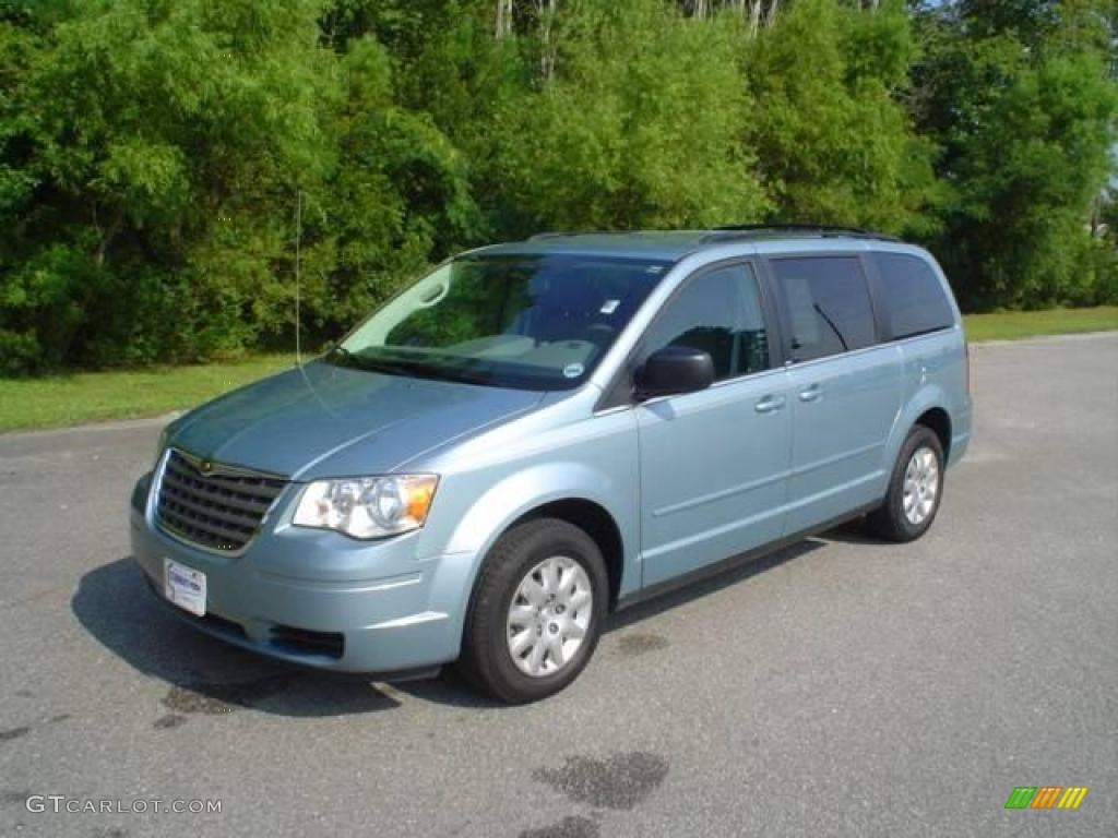 Clearwater Blue Pearl Chrysler Town & Country
