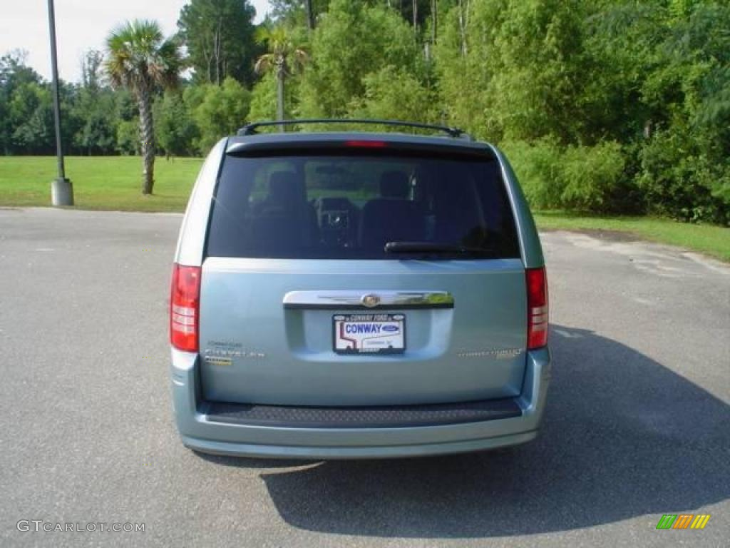 2009 Town & Country LX - Clearwater Blue Pearl / Medium Slate Gray/Light Shale photo #6