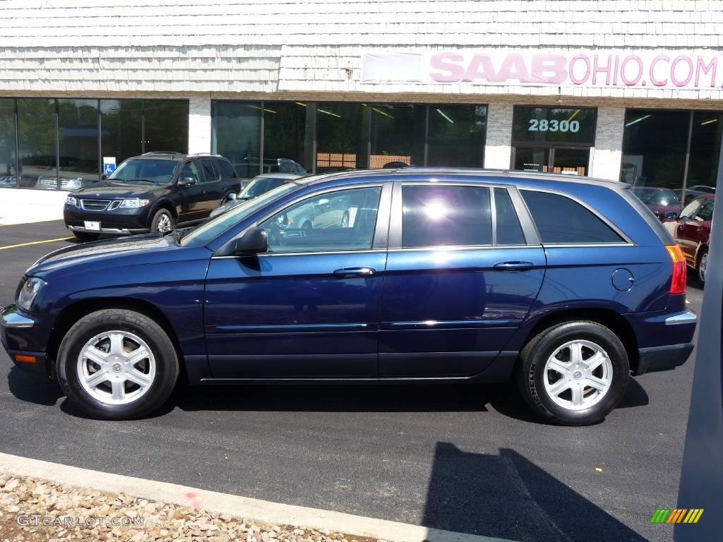 2006 midnight blue pearl chrysler pacifica touring awd 15781879 photo 5 car. Black Bedroom Furniture Sets. Home Design Ideas