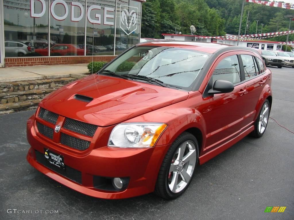 2008 Sunburst Orange Pearl Dodge Caliber SRT4 #15781773 ...