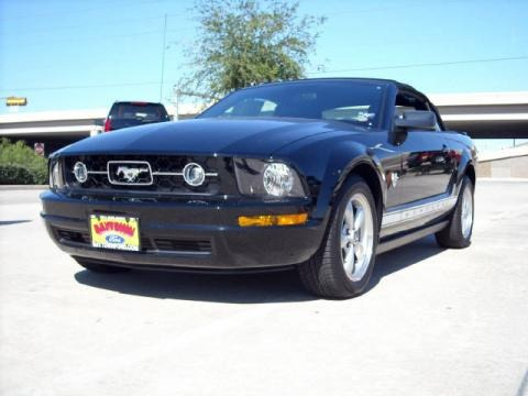 2009 ford mustang v6 premium convertible data info and. Black Bedroom Furniture Sets. Home Design Ideas
