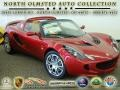 Canyon Red 2008 Lotus Elise SC Supercharged
