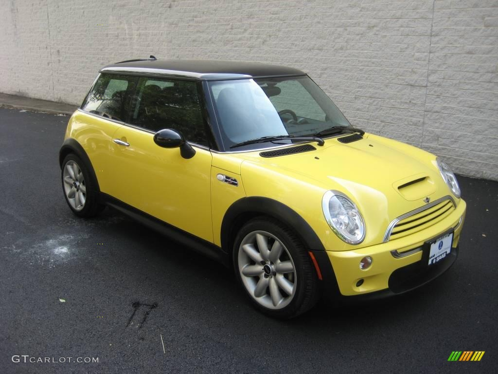 2003 liquid yellow mini cooper s hardtop 15781873 car color galleries. Black Bedroom Furniture Sets. Home Design Ideas