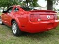 2007 Torch Red Ford Mustang V6 Deluxe Coupe  photo #6