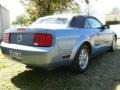 2007 Windveil Blue Metallic Ford Mustang V6 Deluxe Convertible  photo #6