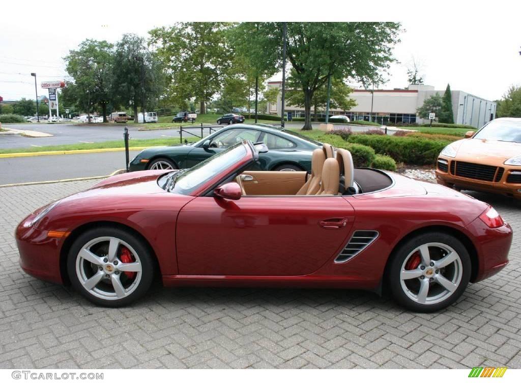 2008 Ruby Red Metallic Porsche Boxster S 15781651 Photo