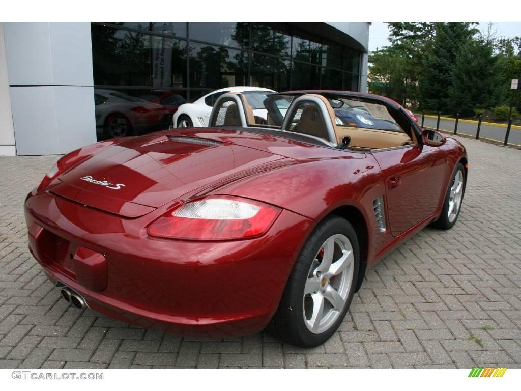 Ruby Red Metallic Car