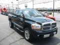2006 Black Dodge Ram 1500 Laramie Quad Cab 4x4  photo #2