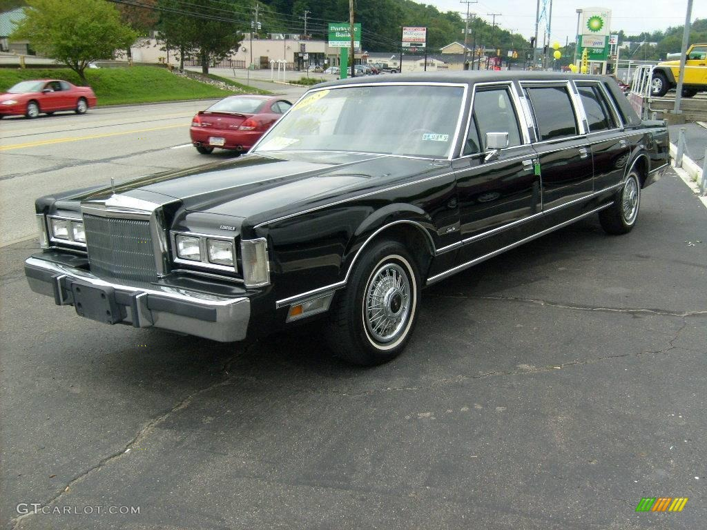 1988 Black Lincoln Town Car Limousine 15812943 Photo 12 Gtcarlot