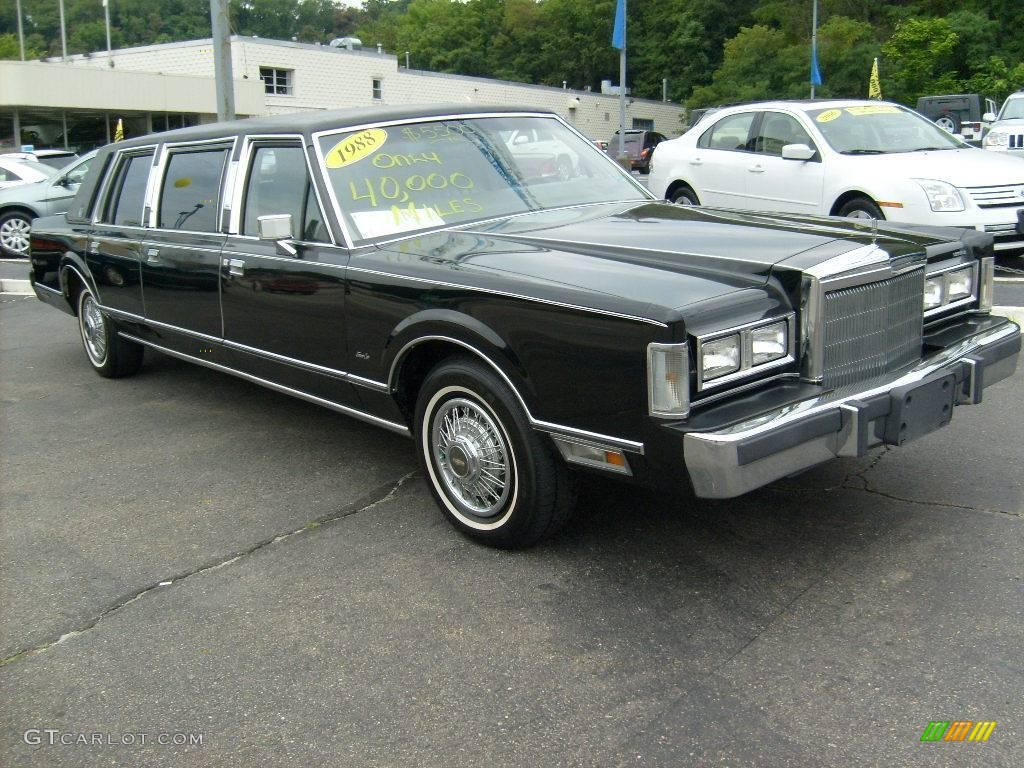 1988 Black Lincoln Town Car Limousine 15812943 Photo 5 Gtcarlot