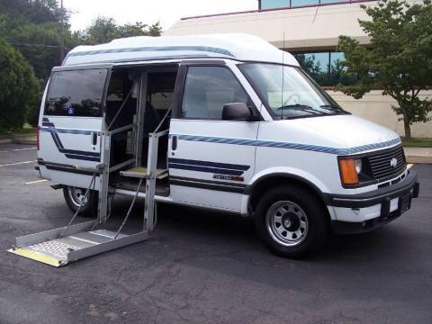 1994 Chevrolet Astro CS EXT Passenger Van Data, Info and Specs