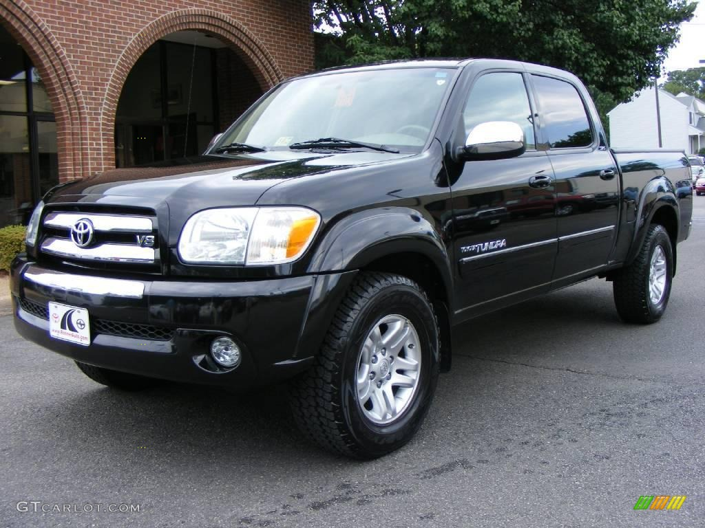 2005 black toyota tundra sr5 double cab 4x4 15919256 car color galleries. Black Bedroom Furniture Sets. Home Design Ideas