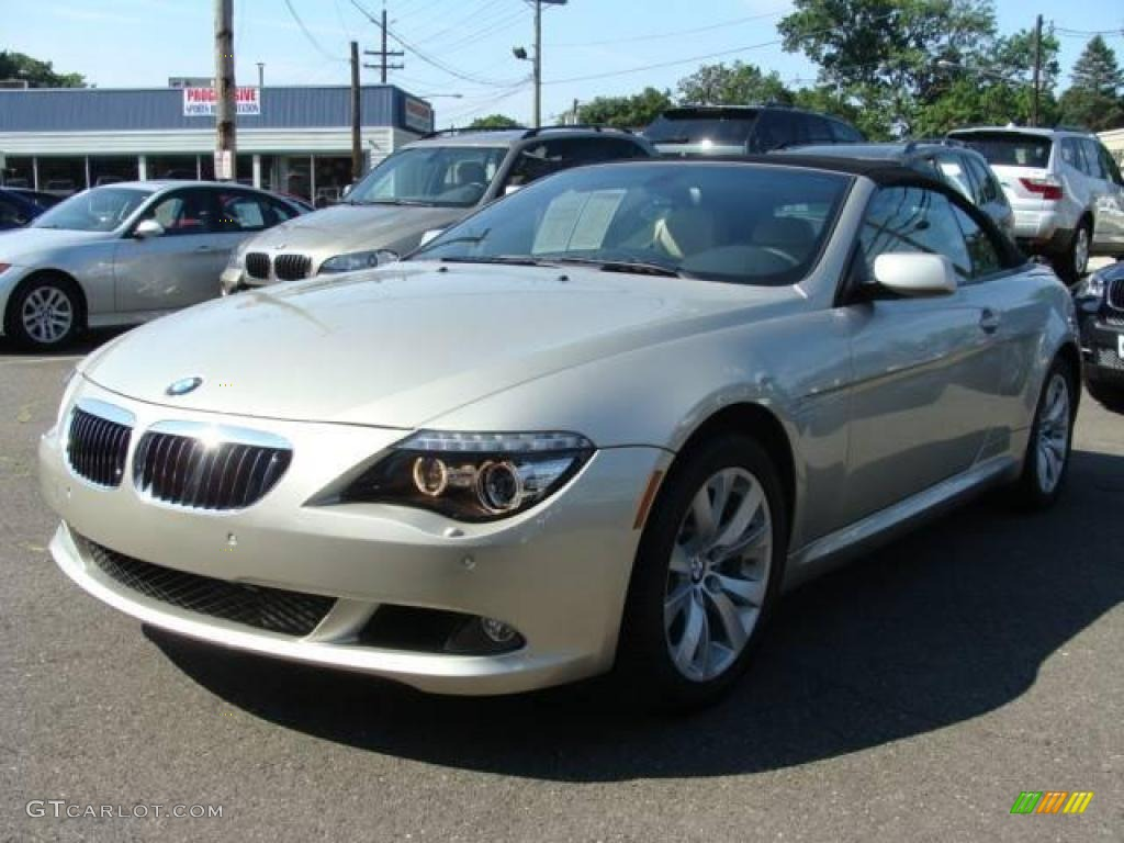2009 mineral silver metallic bmw 6 series 650i convertible. Black Bedroom Furniture Sets. Home Design Ideas