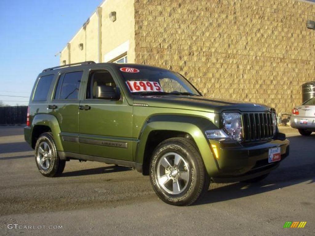 Jeep Green Metallic Jeep Liberty. Jeep Liberty Sport 4x4
