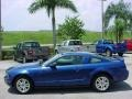 2007 Vista Blue Metallic Ford Mustang V6 Premium Coupe  photo #6