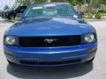 2007 Vista Blue Metallic Ford Mustang V6 Premium Coupe  photo #8