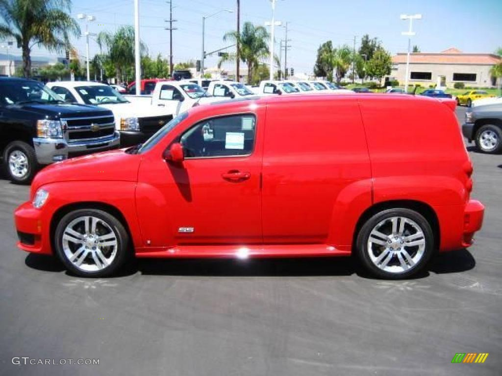 2009 Victory Red Chevrolet Hhr Ss Panel 15974458 Photo 2