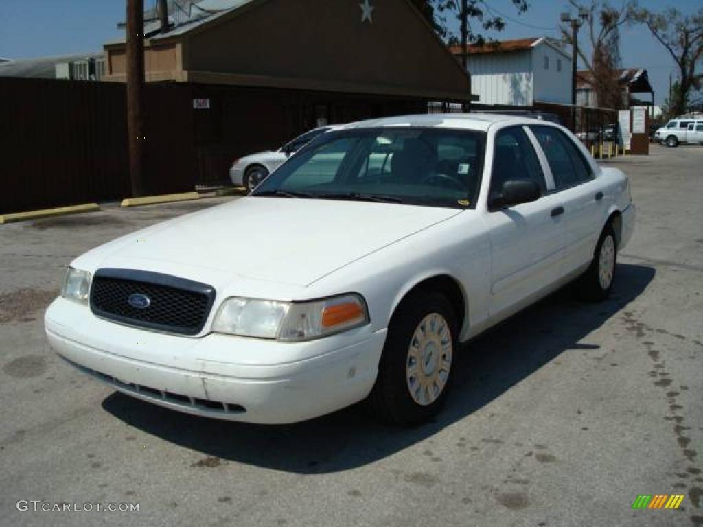 2003 vibrant white ford crown victoria police interceptor 1533603 car color. Black Bedroom Furniture Sets. Home Design Ideas