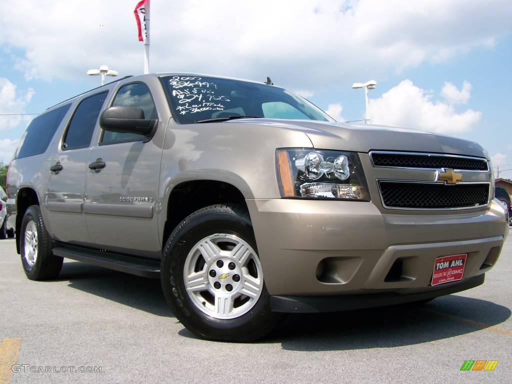 2007 amber bronze metallic chevrolet suburban 1500 ls. Black Bedroom Furniture Sets. Home Design Ideas
