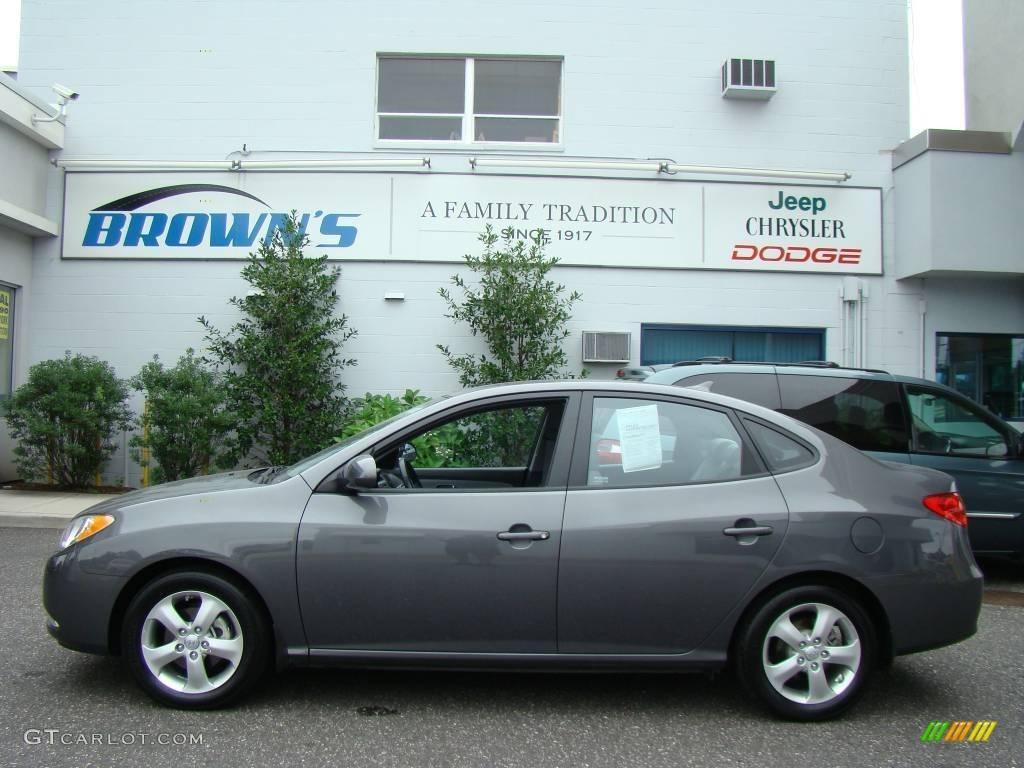 Carbon Gray Hyundai Elantra
