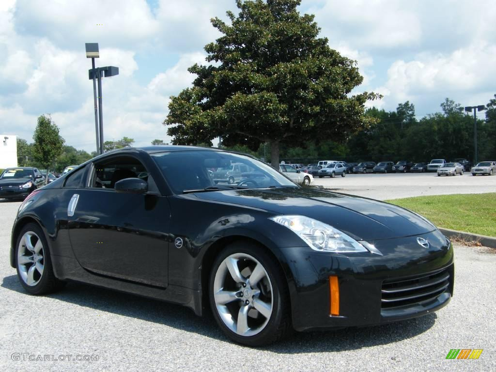 2006 magnetic black pearl nissan 350z coupe 15964367. Black Bedroom Furniture Sets. Home Design Ideas
