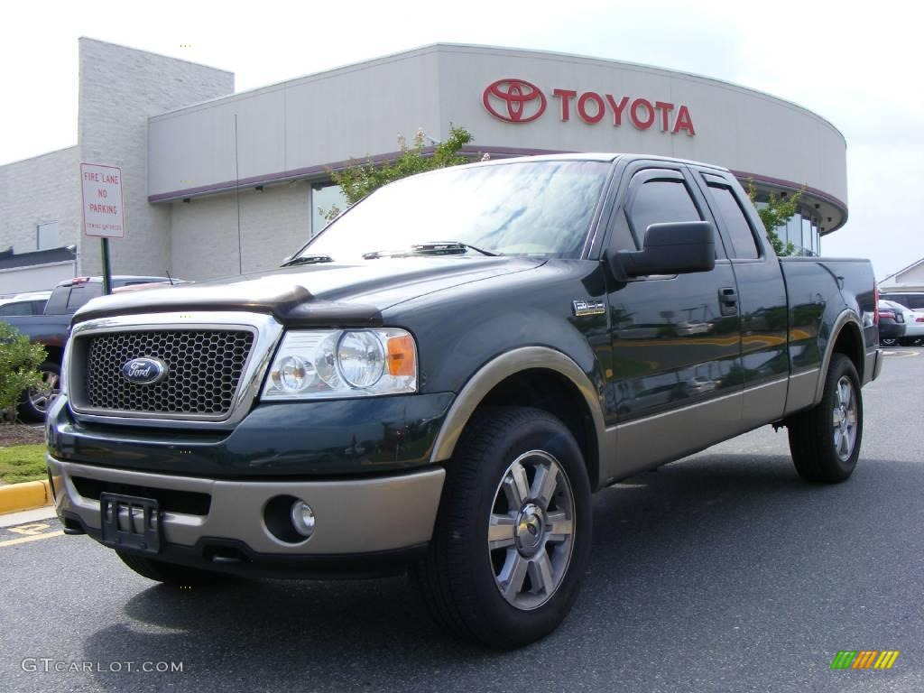 2006 Extended Cab White Lariat Ford F150 Lifted | Autos Post