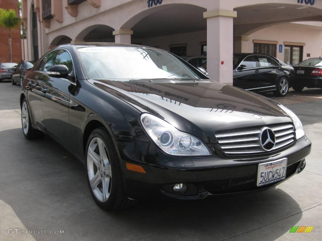 Mercedes Cls 2006 Black Black Mercedes Benz Cls