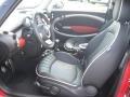 Lounge Carbon Black Leather Interior Photo for 2009 Mini Cooper #16009437