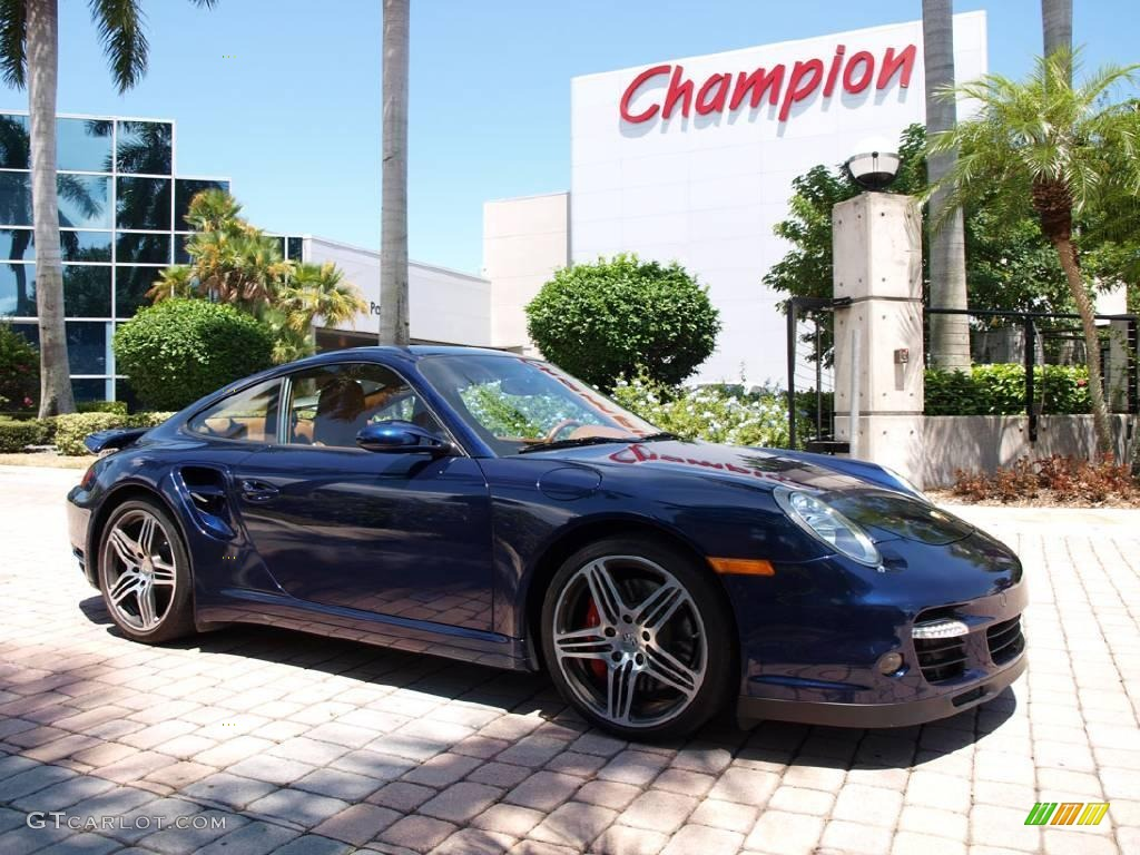 2007 Lapis Blue Metallic Porsche 911 Turbo Coupe 15959726