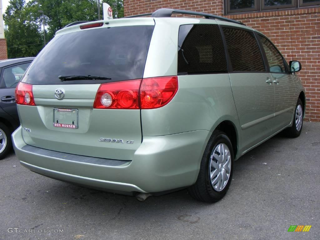 2006 Silver Pine Mica Toyota Sienna LE 15919253 Photo 7