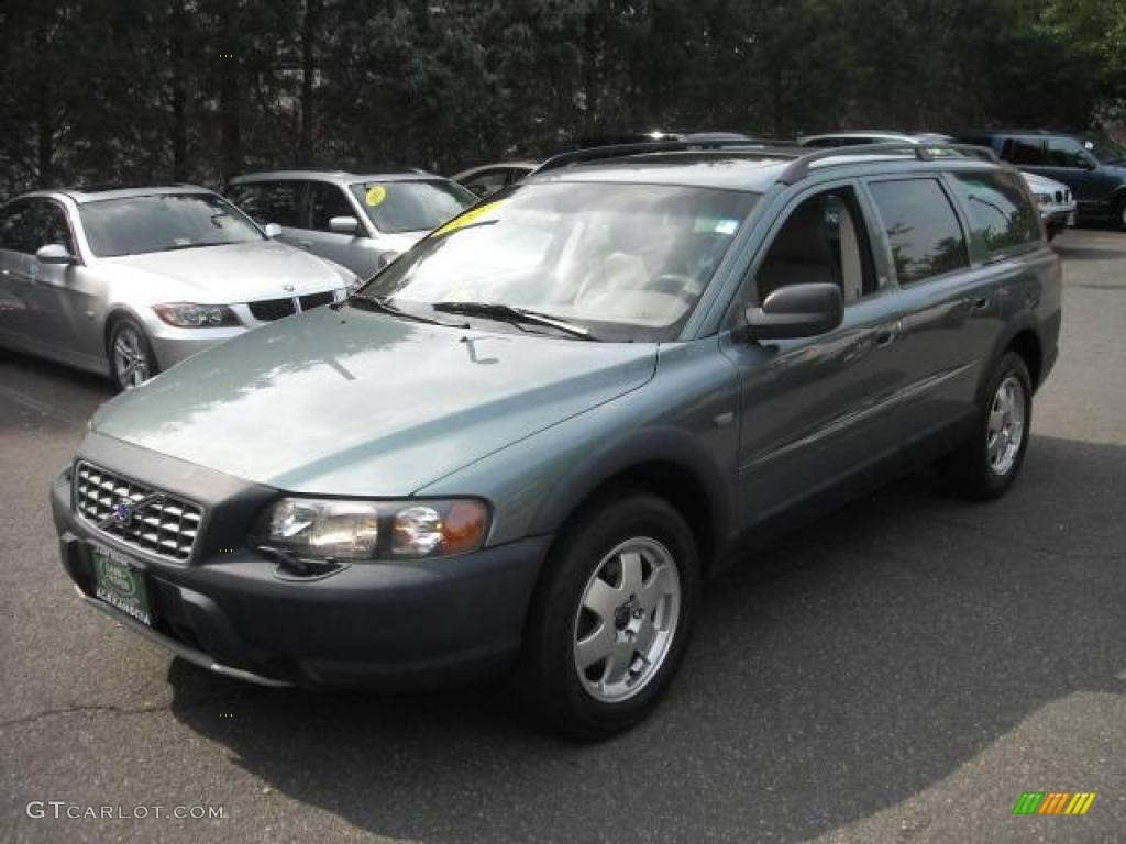 2003 XC70 AWD - Platinum Green Metallic / Taupe photo #2