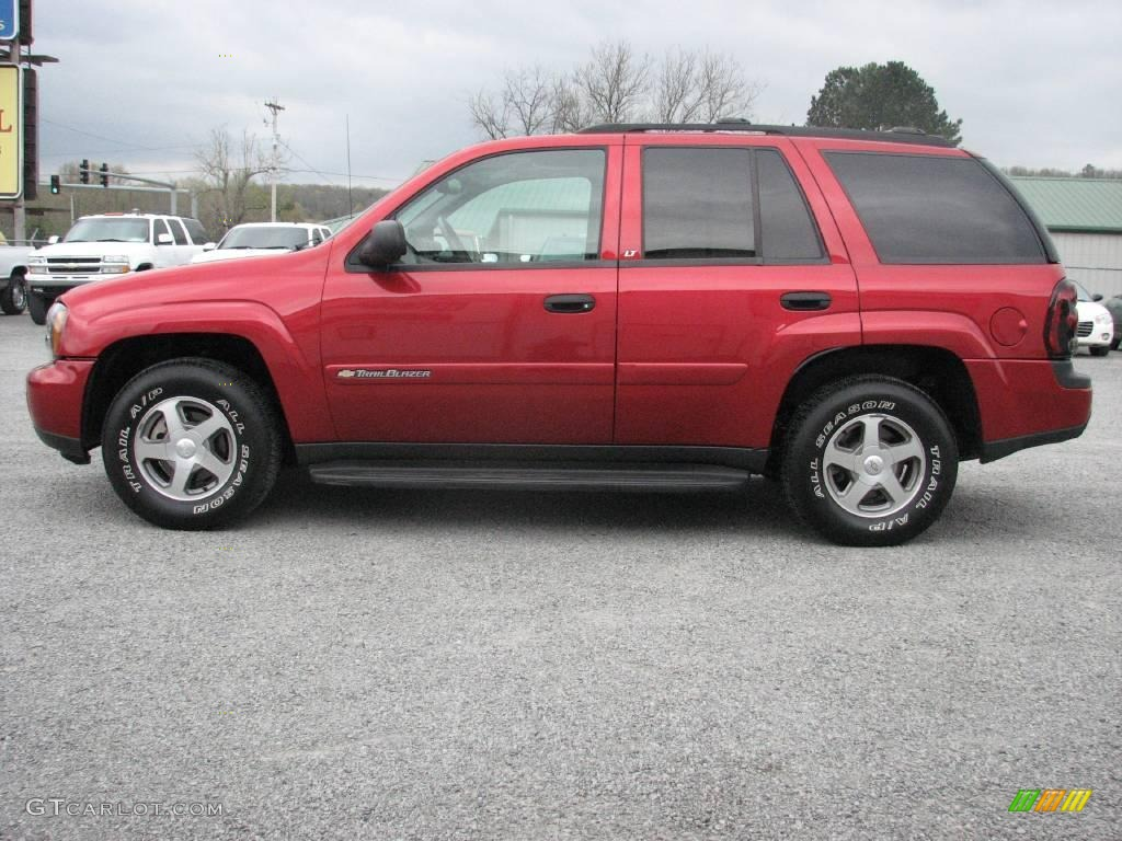 2002 Chevrolet TrailBlazer Utility 4D LTZ 4WD Specs and