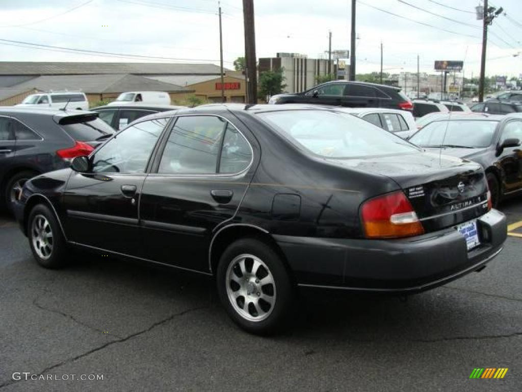 1998 super black nissan altima gxe #16026398 photo #5 | gtcarlot