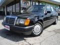 Black 1993 Mercedes-Benz E Class 300 E Sedan