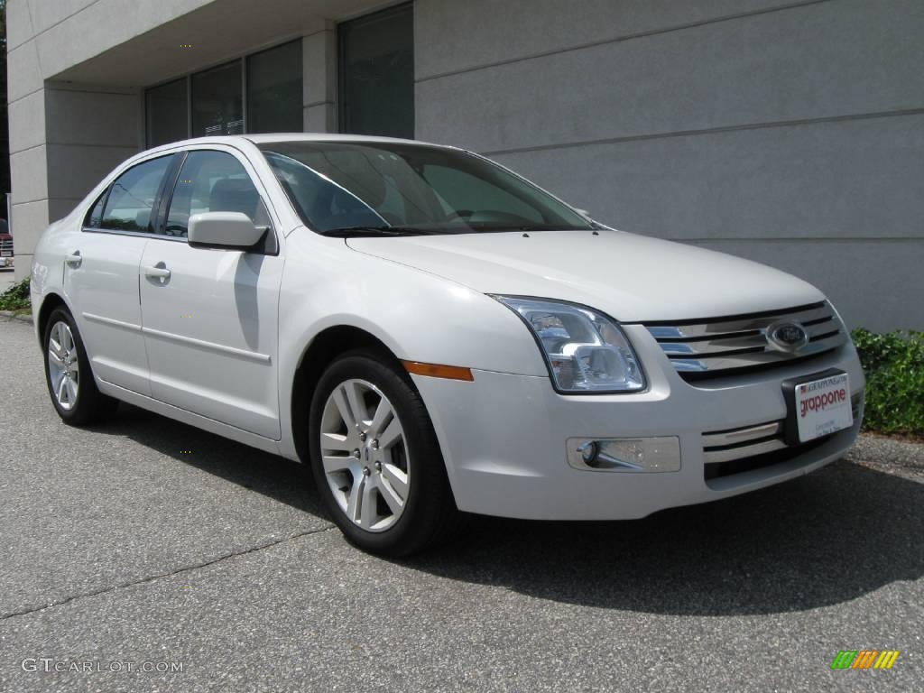 2008 white suede ford fusion sel v6 16029994 car color galleries. Black Bedroom Furniture Sets. Home Design Ideas