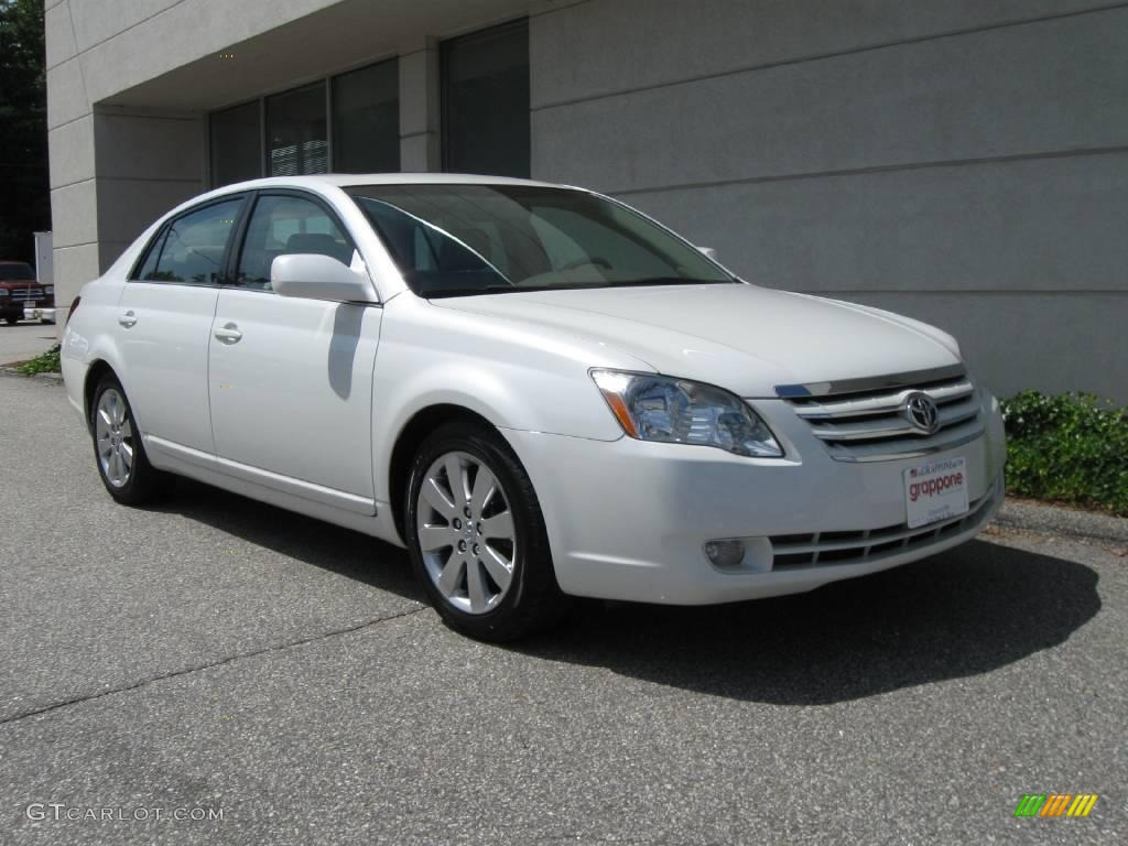2005 blizzard white pearl toyota avalon xls 16030099. Black Bedroom Furniture Sets. Home Design Ideas