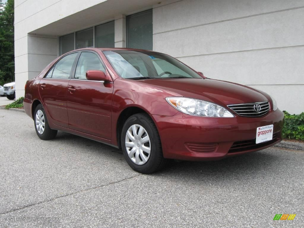 2006 salsa red pearl toyota camry le 16030111 car color galleries. Black Bedroom Furniture Sets. Home Design Ideas
